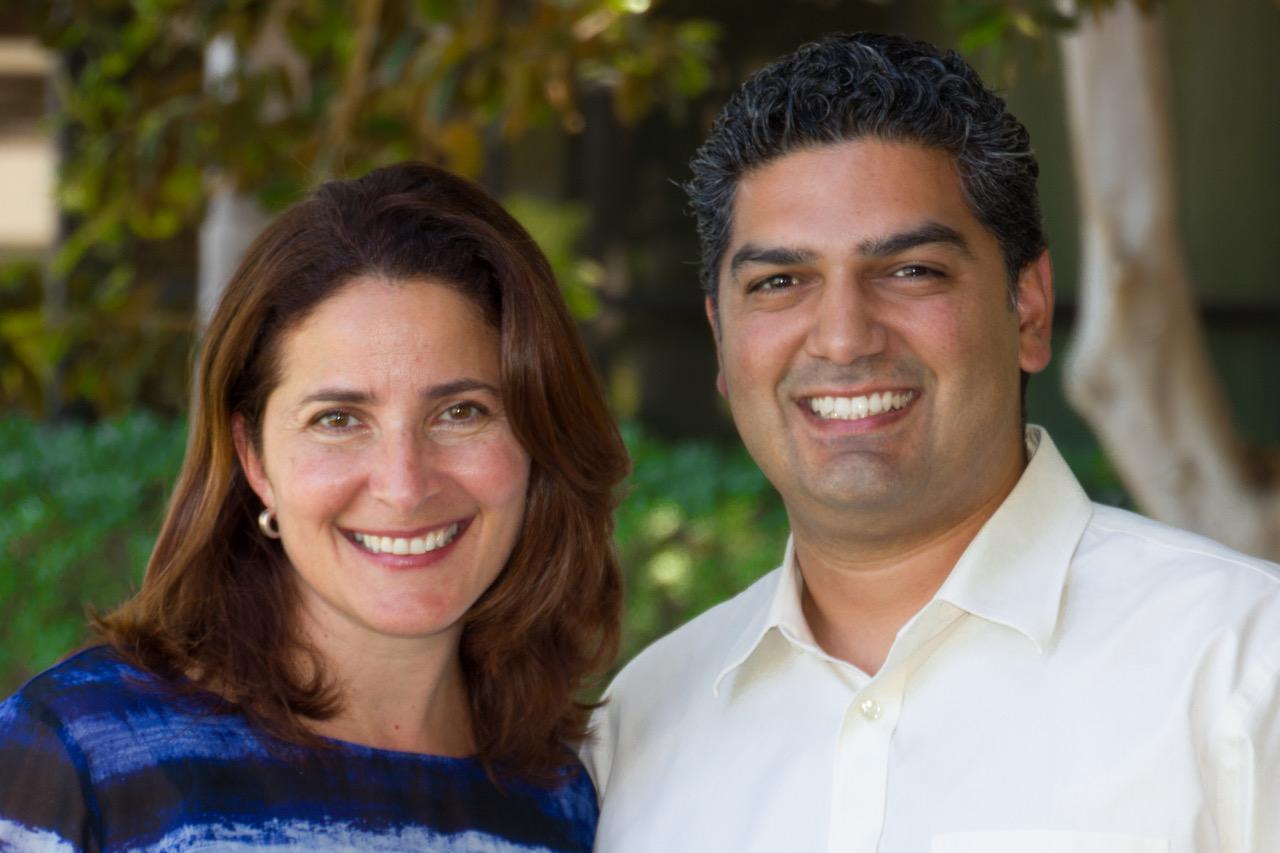 Liliana Riquer  & Omar Michel
